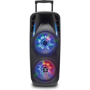 Groove GR870 Schwarz 800 Watt, 2 Mikrofon, Bluetooth, Akku 4h