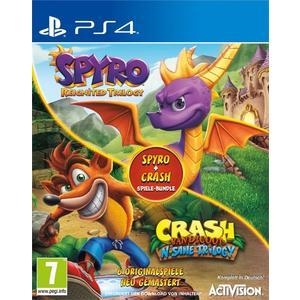 Spyro + Crash Remastered Spiele Bundle [PS4] (D)