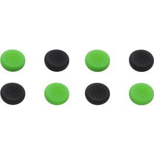 Xbox One Controller Stick Aufsätze Caps 8er - schwarz grün [Xone]