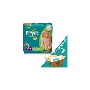 Baby Dry Grösse 4+ Maxi Plus Gewicht: 9-20kg, Inhalt: 152Stk, Monats-Box