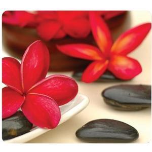 Mauspad Wellness Blumen Langlebig und einfach zu reinigen