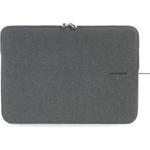 """Second Skin Melange - Neopren Sleeve mit weichem Innenpolster und extraschlankem Design für Notebooks und Macbooks 13.3"""" - 14"""" - Schwarz"""