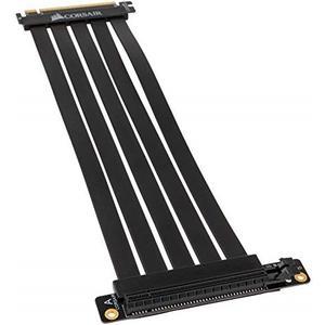 Premium PCIe 3.0 x16 Riser Flachband-Kabel, 30cm - schwarz