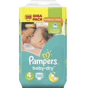 Baby Dry Giga Pack Gr. 4 Maxi, 120 Stk.
