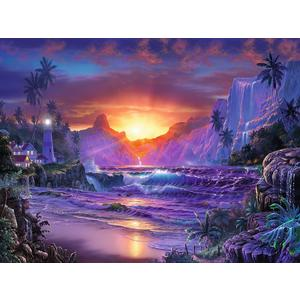 Sonnenaufgang im Paradies - Puzzle [1500 Teile]
