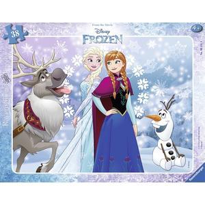 Disney Die Eiskönigin: Anna und Elsa - Puzzle [40 Teile]