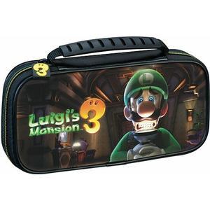 Travel Case Luigi's Mansion - schwarz [NSW Lite]