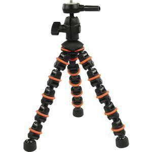 flexibles Stativ 28.5 cm 1 kg Schwarz/Orange