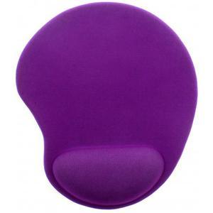 Ergo Design Mausmatte ergonomisch mit Gel Einsatz, violett