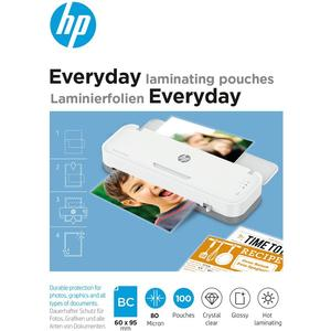 Everyday Laminating Pouches, Business Card Size, 80 Micron