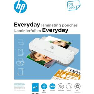 Everyday Laminating Pouches, A4, 80 Micron - big pack