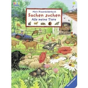 Fechner, Riesenbilderbuch Sachen suchen RAV Kinderbücher