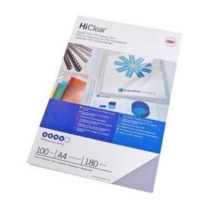 Einbanddeckel HiClear, 300my PVC, glasklar, 100Stk.