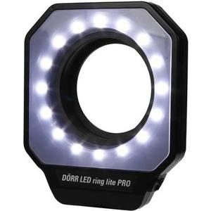 LED Macro Ringlicht Pro 16 16 LED's für schattenfreie Ausleuchtung