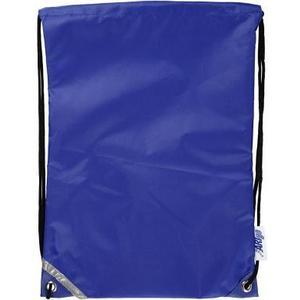 Turnbeutel blau 1 Stück, 31 x 44 cm, Polyester