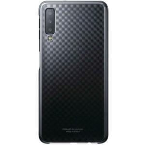 Gradation Cover für Galaxy A7 (2018) - schwarz
