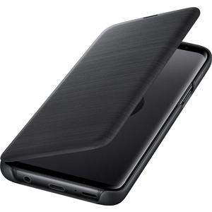 Led View Cover für Galaxy S9 - schwarz