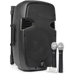 SPJ-PA912 12 mobiler Lautsprecher mit Akku, 500W