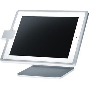 Table top iPad 4 Tischständer mit Diebstahlsicherung - silber