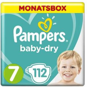 Baby Dry Gr.7 Extra Large 15+kg MonatsBox 112Stk.