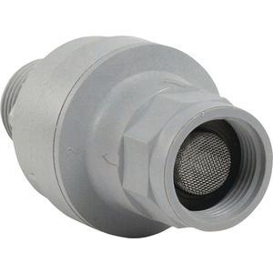 Mechanischer Aqua-Stopp Grau