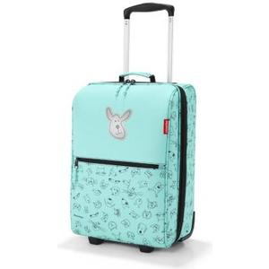 Kindertrolley xs kids cats and dogs mint, 29 x 43 x 18 cm, 19 l