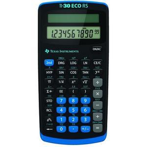TI-30 eco RS Rechner Solarbetrieb