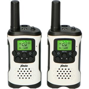 Walkie Talkie FR-175 weiss/schwarz, 7km, 2.5h, 8 Sender, Display, SOS