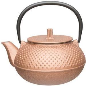 Teekanne aus Gusseisen Studio Line kupfer, Fassungsvermögen 0.75 Liter