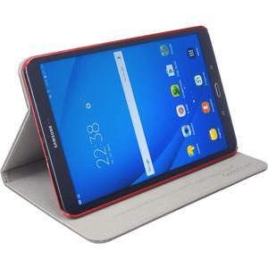 Easy-Click Cover für Samsung Galaxy Tab A 10.1'' - schwarz/rot