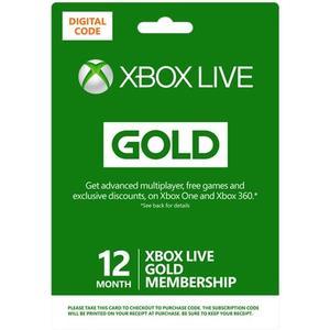 Xbox Live Gold Membership - Abokarte (1 Jahr) - ESD