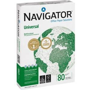 Navigator Universal A4 Box à 2'500 Blatt, 80g, weisse 169 CIE