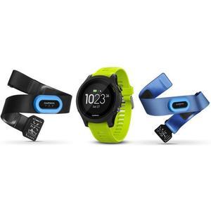 Forerunner 935 GPS-Sportuhr + 2 Pulgurte - gelbgrün/schwarz