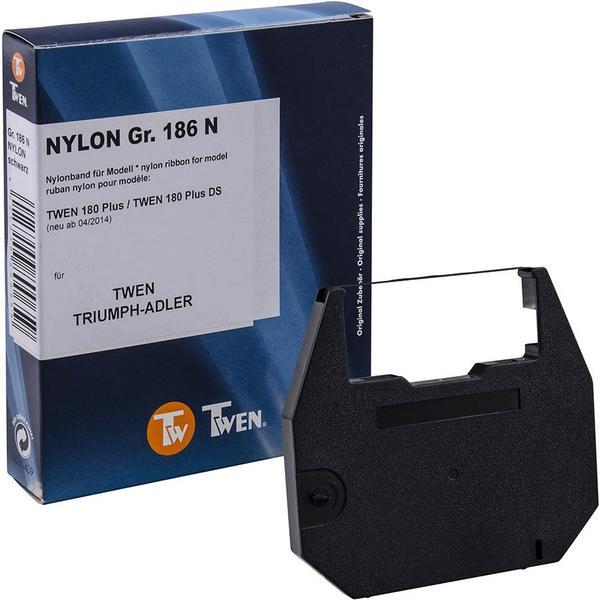 TWEN Farbband Gr. 186N Nylon (optional) passend zu Schreibmaschine 180 Plus