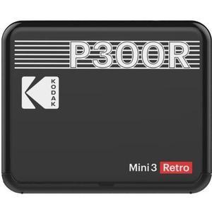 Mini 3 Square Retro schwarz Printer