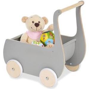 Puppenwagen Mette Grau