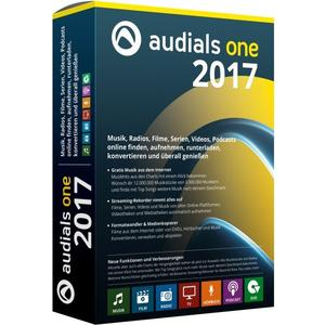Audials One 2017, Deutsch