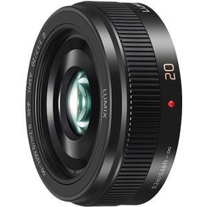 LUMIX G 20mm / F1.7 II ASPH - schwarz