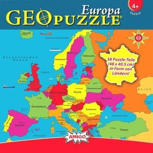 GeoPuzzle Europa - Puzzle [58 Teile]