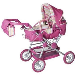 Puppenkombi Twingo S - pink stripe Alter: 3+