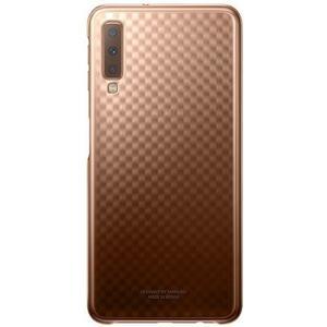 Gradation Cover für Galaxy A7 (2018) - gold
