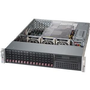 2028R-C1RT: 2x Xeon E5-2600v3 bis 1TB RAM, 8x SAS und 8x SATA 2.5 Hotsw.