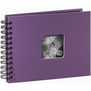 """Spiralalbum """"Fine Art"""" 24x17/50 - violett"""