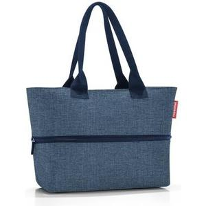 Schultertasche shopper e1 twist blue