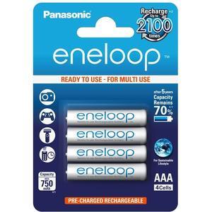eneloop (1.2V, AAA, 750mAh, 4-Pack)