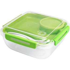 Salatbox 1.7L MEMORY grün/weiss 195x195x91 mm