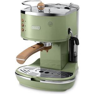 Espressomaschine Icona Vintage Ecov 311.GR - grün