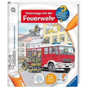 tiptoi: Unterwegs mit der Feuerwehr