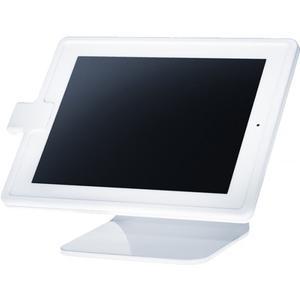 Table top iPad 4 Tischständer mit Diebstahlsicherung - weiss