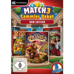 Match 3 Sammlerpaket - Rom Edition (PC) (DE)